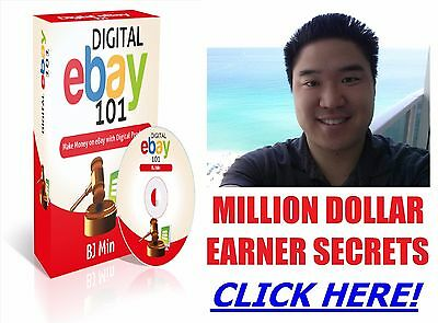 Digital Ebay Business - Make Money On Ebay With Digital Products - No Inventory