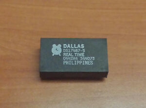 DS17487-5-DALLAS-REAL-TIME-CLOCK-M48T86PC1-EQUIVALENT-SAME-amp-MORE-FUNCTION