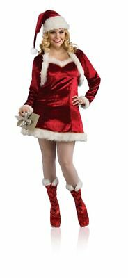 Women's Plus Santa's Helper Costume Chistmas Outfit