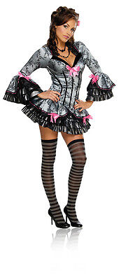 French Kiss Renaissance Queen Deluxe Fancy Dress Up Halloween Sexy Adult Costume