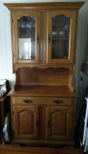 Timber hutch / buffet. Grange Brisbane North West Preview