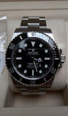 Rolex Submariner 124060 Unused