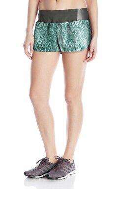 2fae05a79 NET~adidas Women s Running Supernova Glide Shorts~Easy Green Core  Green~Medium