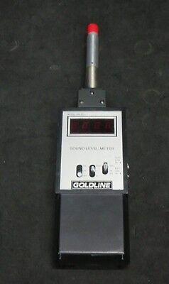 Goldline Spl120 Sound Level Meter