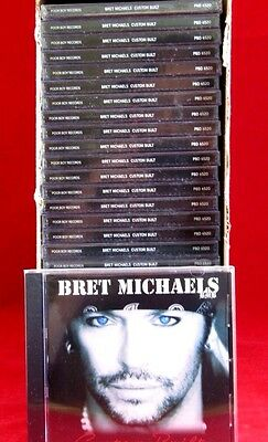 New 30 Count Lot Custom Built Cds By Bret Michaels  Of Poison