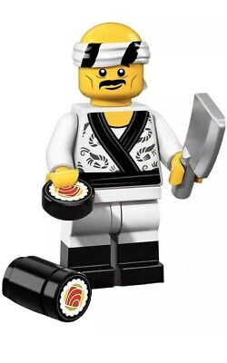 LEGO 71019 Ninjago Movie Series Collectible Minifigures Sushi Chef NEW & SEALED
