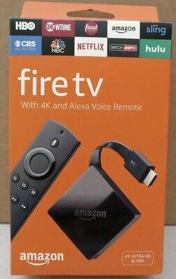 Amazon Fire TV Box with Alexa Voice Remote 3rd Generation 2017 4K *BRAND NEW