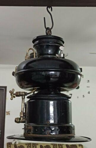 Antique / Vintage Germany Made Petromax 835 Kerosene  Punk Gas Lantern Lamp #16