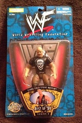 Stone Cold Steve Austin Action Figure - Best of '98 - New - WWF / WWE