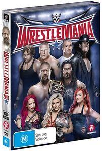 BRAND NEW WWE - WrestleMania 32 (DVD, 2016, 3-Disc Set) R4 XXXII
