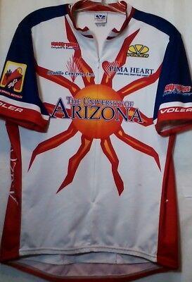 Mens Voler USA Grover Beach Bike Racing Team Cyclist Jersey UA Pima Heart 8fc4b7f93