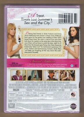 BRIDE WARS new dvd KATE HUDSON ANNE HATHAWAY BRYAN GREENBERG KRISTEN JOHNSTON