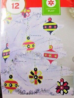 Play Decorate Your Own Foam Ornaments Party & Activities Foam Kit Makes 12