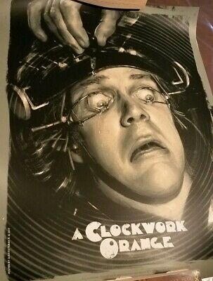 A Clockwork Orange Variant Juan Esteban Rodriguez Art Print Poster Kubrick
