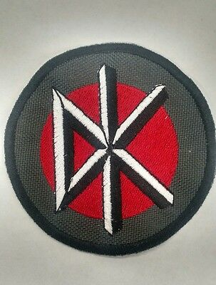 """Dead Kennedys """"DK"""" Embroidered Patch Punk Rock FREE GIFT"""