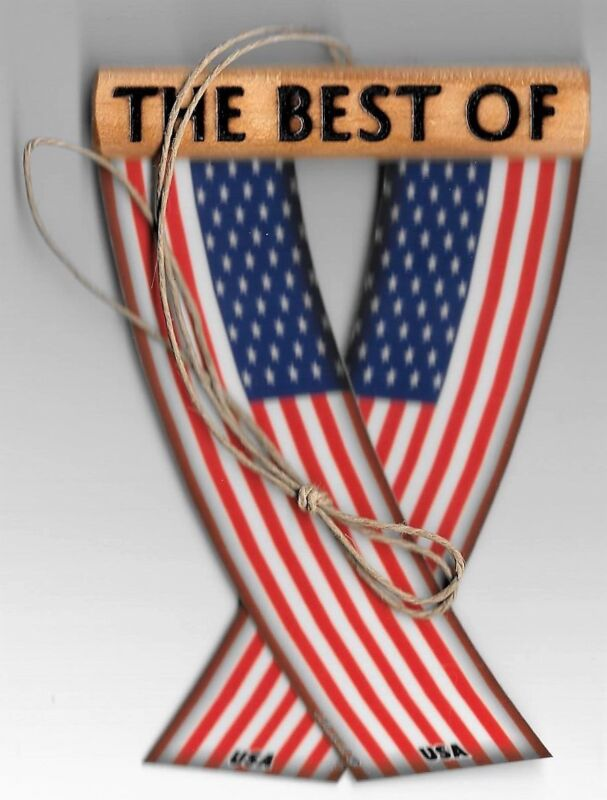 Rear view mirror car flags United States USA unity flagz for inside the car