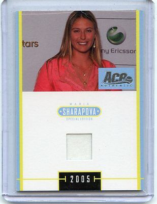 2005 Ace Special Edition Maria Sharapova Worn Dress J 2