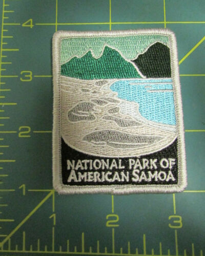 New Traveler Series Embroidered Patch - National Park of American Samoa