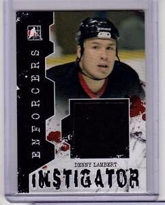 DENNY-LAMBERT-11-12-ITG-Enforcers-Instigator-Jersey-I-30-Game-Used-Senators