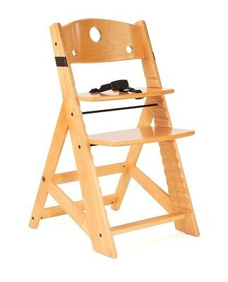 (NEW! Keekaroo Height Right Kids Chair - Natural Color)