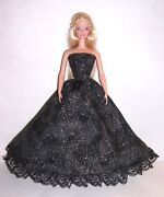 Barbie Doll Black Dress