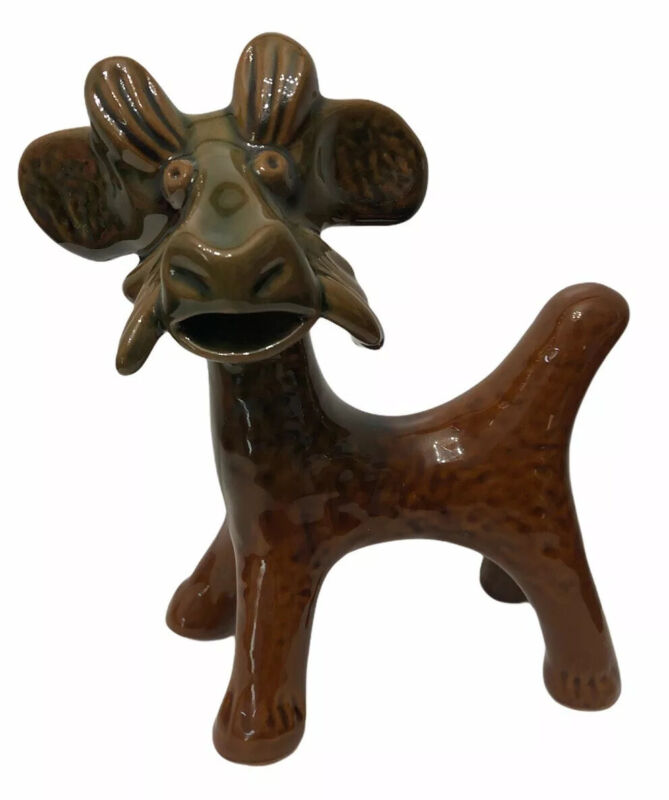 Clay Billy Goat Home Decor Collectible