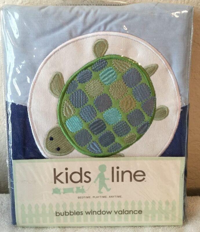 Kids Line Bubbles Window Valance