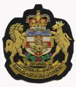 Kings-Own-Calgary-Regiment-Blazer-Badge