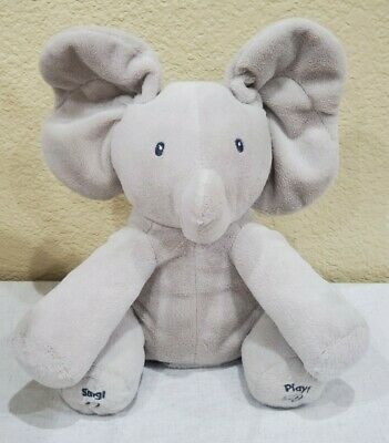 GUND Baby Animated Sing and Play Flappy The Elephant Plush Toy