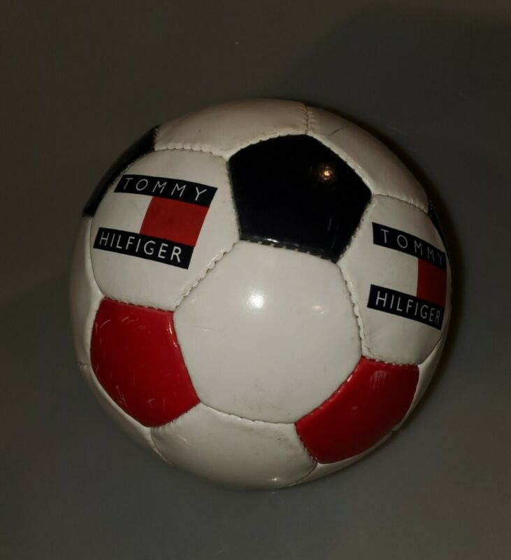 Vintage Tommy Hilfiger Store Display Soccer Ball Tommy Flag Ball