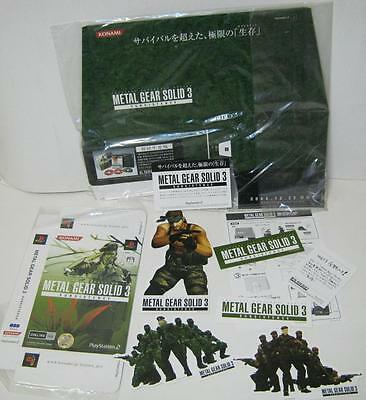METAL GEAR SOLID 3 SUBSISTENCE POP(Point Of Purchase)  Promo