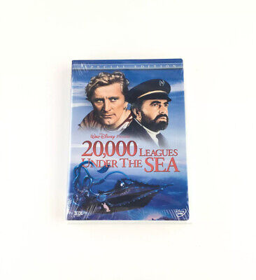 """Brand New Disney's """"20,000 Leagues Under The Sea"""" Special Edition 2-Disc DVD Set"""
