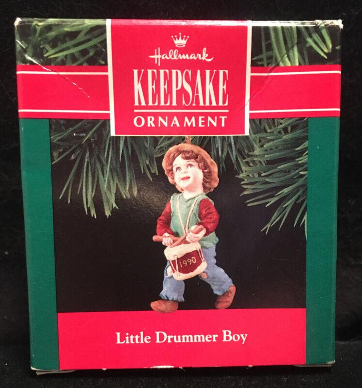 Hallmark Keepsake Collectible Little Drummer Boy Christmas Ornament 1990