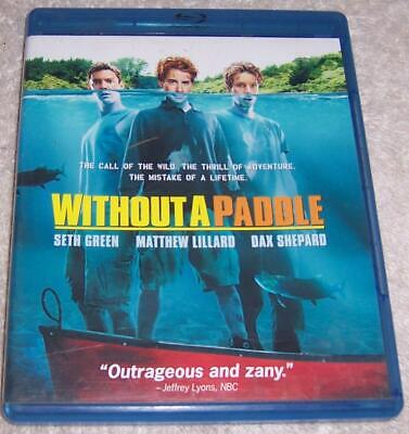 Without a Paddle Blu-ray disc Seth Green Matthew Lillard DAx Shepard](without a paddle blu ray)