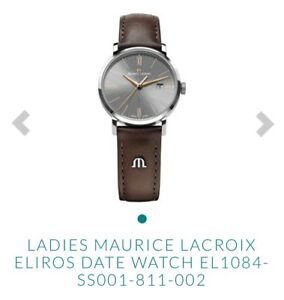 LADIES MAURICE LACROIX ELIROS DATE WATCH EL1084-SS001-811-002