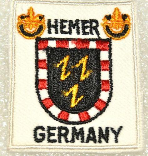 CAFÉ Boy Scout Hemer Germany DISTRICT Uniform Badge Canada / Europe (CAFEH1BN2)