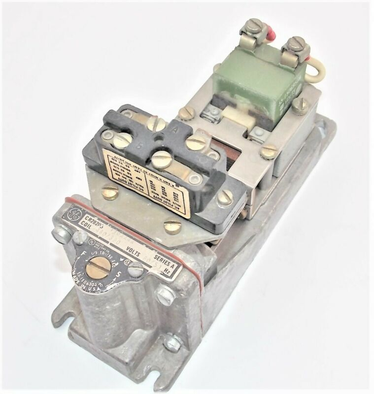 General Electric CR2820B Pneumatic Time Delay Relay 1/pkg Coil 460/380 Series A