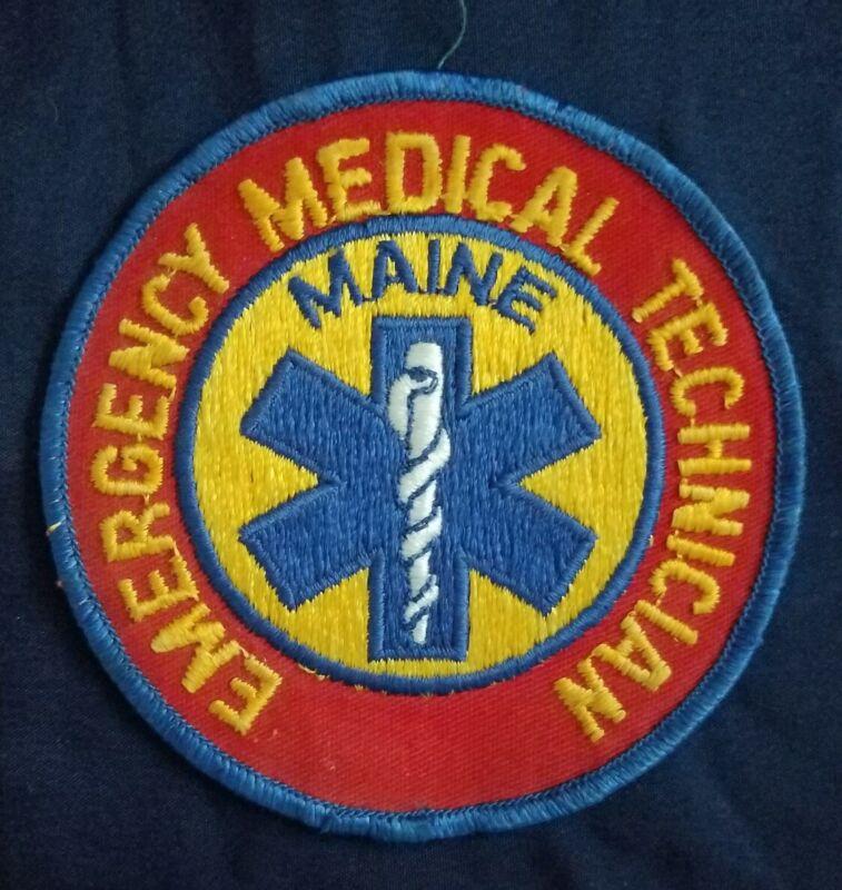 Maine Ambulance FIRE RESCUE Emergency EMT Uniform Patch