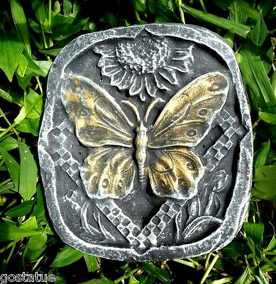 - Butterfly plaque mold stepping stone plastic reusable casting mould