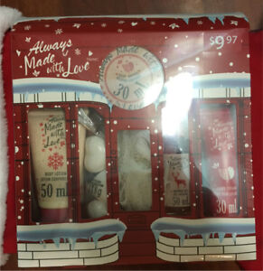 Spa gift boxes - new in package and onopened plastic wrap