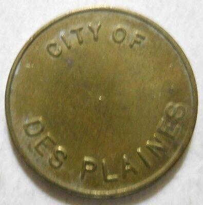 City of Des Plaines (Illinois) parking token - IL3205A
