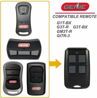 BEST Garage Door Remote 315 390 MHz For Genie GITR-3 GITR-3BX 37517S