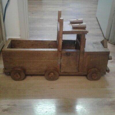 Beautiful indoor or Outdoor Wooden truck Planter