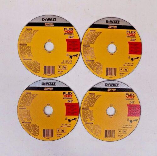 "(4) Cutting Metal Wheel 6"" x .045"" x 7/8"" ~ New"