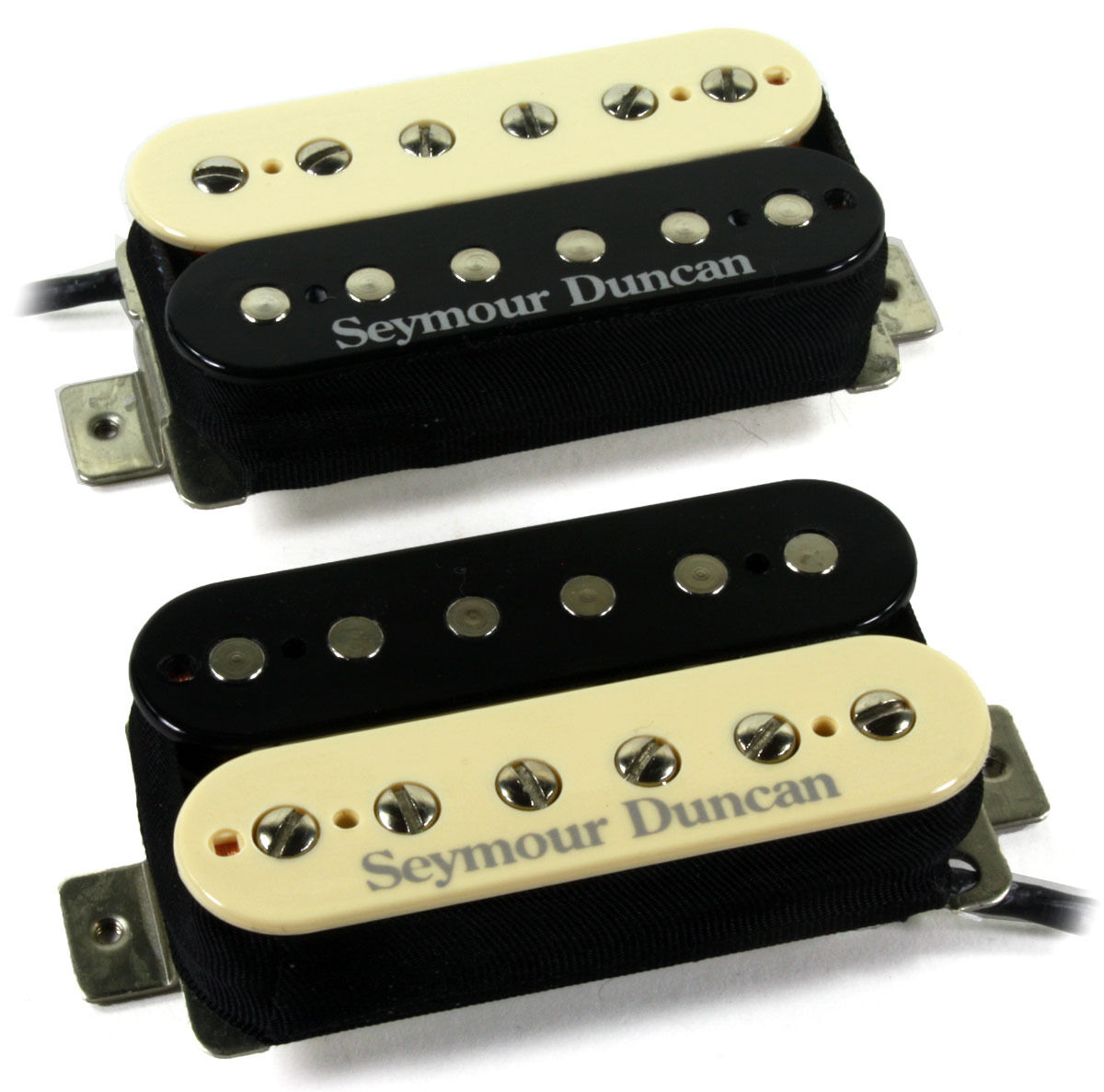 Seymour Duncan SH-18 Whole Lotta Humbucker Bridge and Neck Pickup Set Nickel