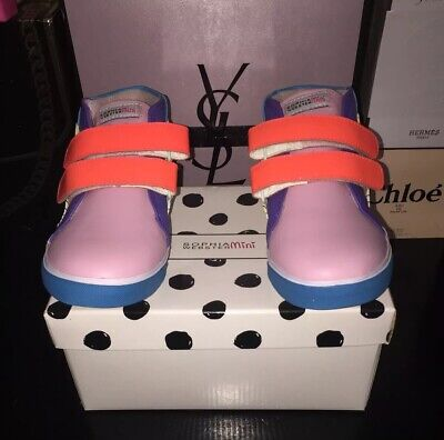 NEW Sophia Webster Mini High Top Sneakers Size 27/ US Size 10
