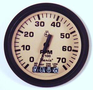 johnson evinrude etec omc bombardier ficht tachometer tach systems check ebay