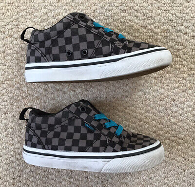 Boys Vans Canvas Shoes UK Size 7 Infant