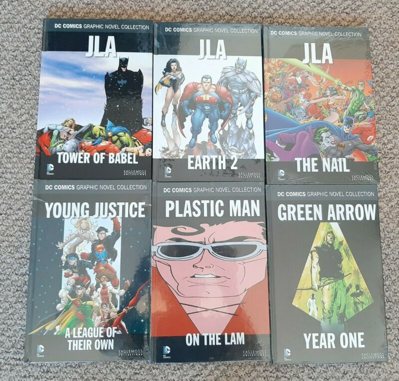 DC Comics Graphic Novel Justice League Of America Job Lot x 6 - New & Sealed