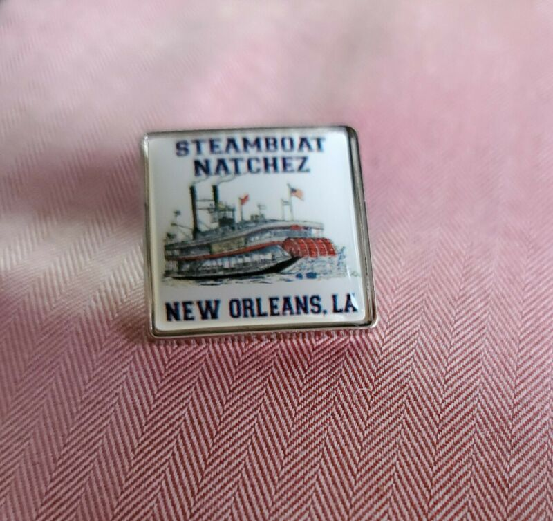 Steamboat Natchez New Orleans Souveniere Tac Pin
